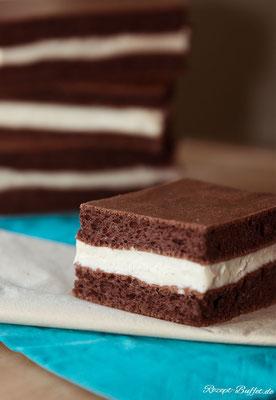 Lust auf etwas Süßes? Mit der Low Carb Milchschnitte kein Problem