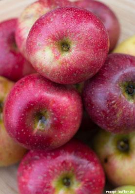 Garantiert Bio - Äpfel aus dem Garten