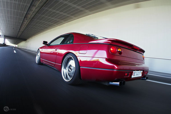 300zx Rolling Shot, Photography by J.G. Pixel Couture