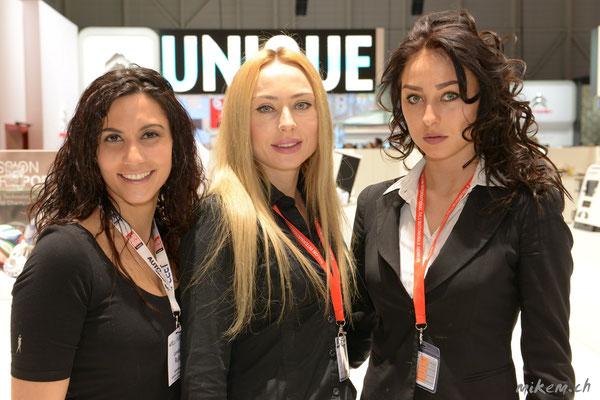 Loredana R, Olga M. und Kristina M.