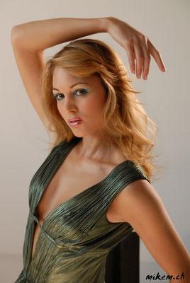 Jennifer Ann Gerber,  Model, Moderatorin und Miss Schweiz 2001.