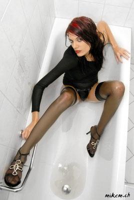Badewanne Wetlook Shooting Bathtub