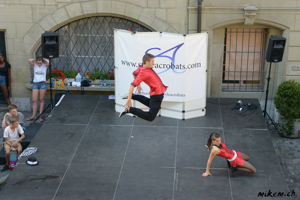 Styleacrobats am Buskers