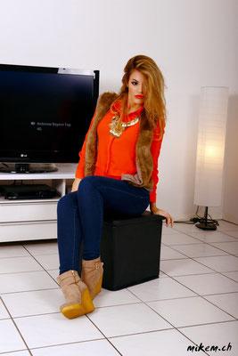 www.vivrepourinspirer.com Jeans und Hemd mit Gilet