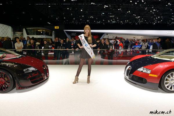 Was für ein Hingucker. Besuch bei Bugatti