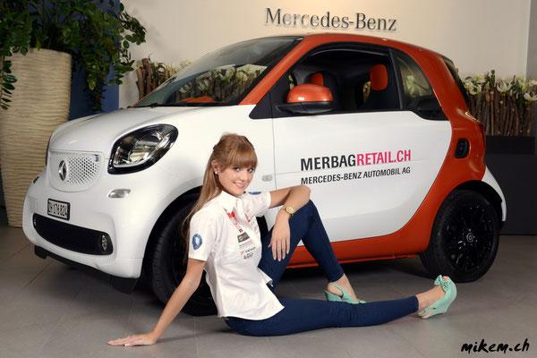 Miss Auto Zürich 2014, Sandra Meier