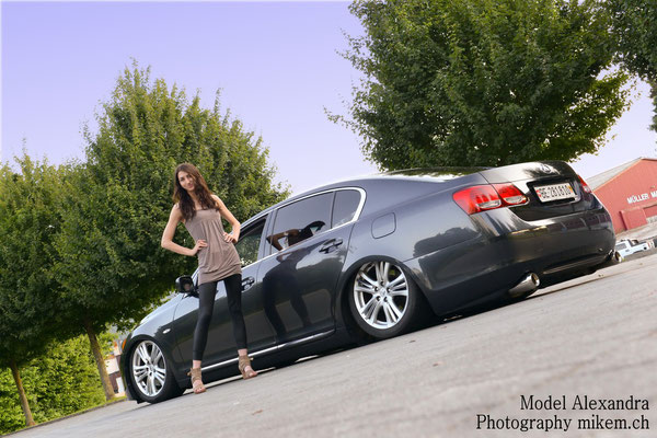 Auto Tuning, Fotoshooting Girl & Car, Lexus GS450