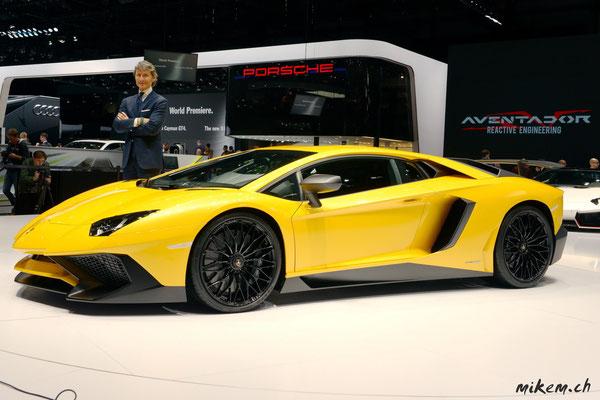 Lamborghini LP750-4 Aventador SuperVeloce,