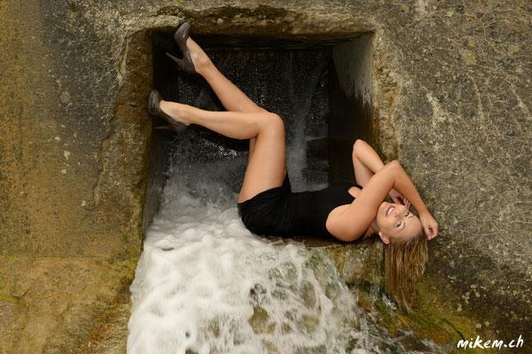 Wasserfall, Kanal Wetlook Shooting