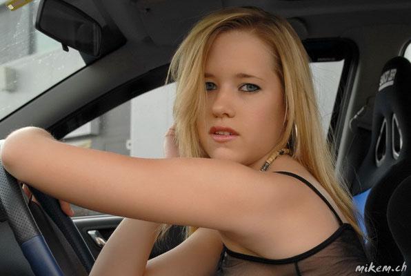 Car and Girl Shooting
