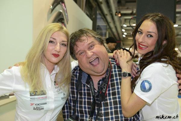 Miss Auto Zürich Kandidatinnen und Fotograf Martin Rahn