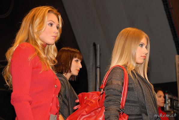 Jennifer Ann Gerber, Anita Buri und Xenia Tchoumitcheva