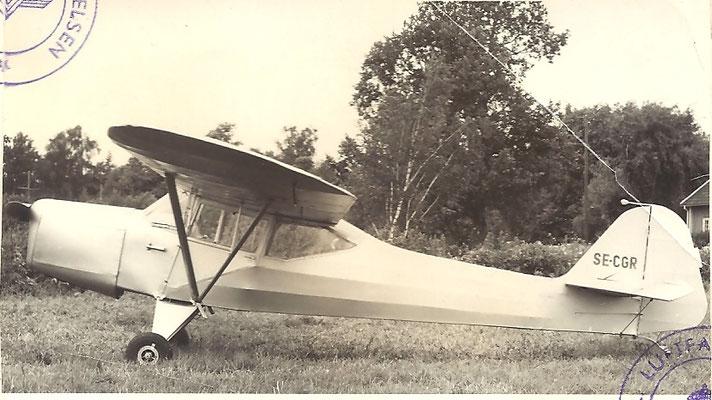 Photos de notre Auster J1 en 1958