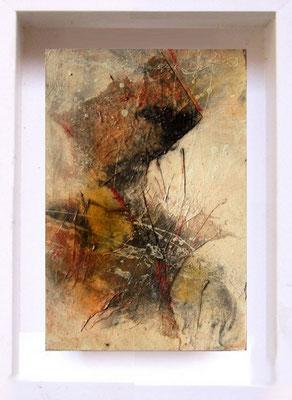 2007 Samouraï PF8 Technique mixte sur papier  (14x21cm)Prix 215€