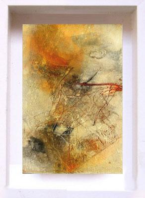 2007 Samouraï PF9 Technique mixte sur papier  (14x21cm)Prix 215€