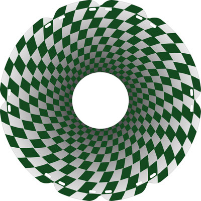 0938 Tunnelblick grün