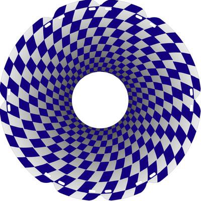 0936 Tunnelblick blau
