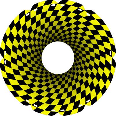 1271 Tunnelblick gelb
