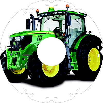 1737 John Deere Traktor