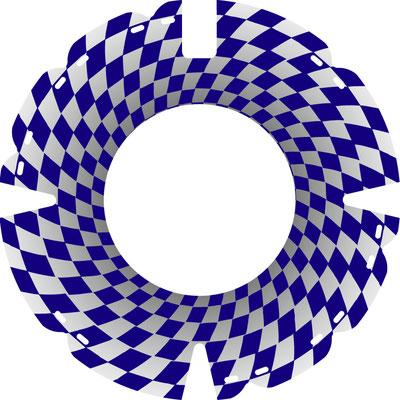 33 0936 Tunnelblick blau
