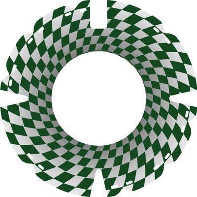 33 0938 Tunnelblick grün