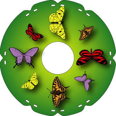 2141 Schmetterlinge bunt