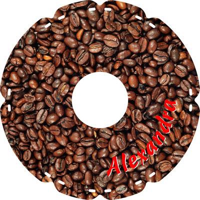 0756 Kaffeebohnen (mit indiv. Namen)