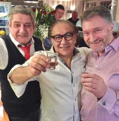 Silvio (links) ein ganz lieber Freund der Familie