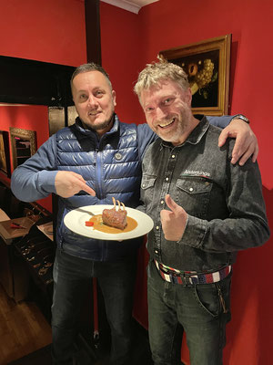 Geschäftsführer Massimo mit Olli