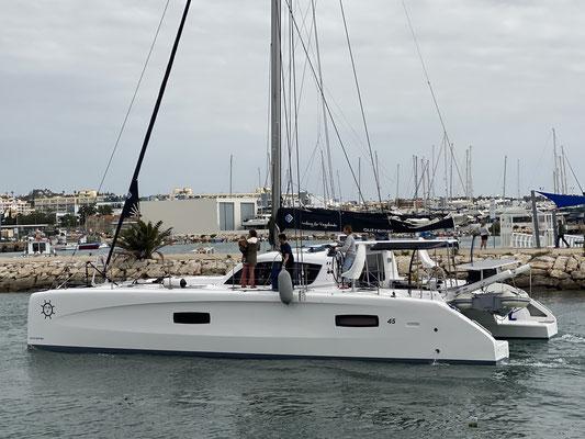 "Outremer 45 ""Sailing La Vagabonde"""
