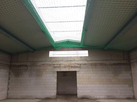 Gym-Halle mit Dach