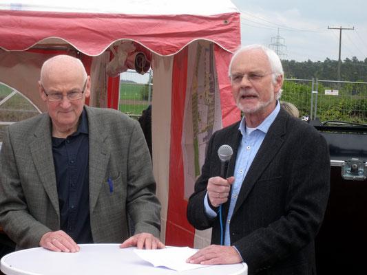 1. Vorsitzende TUSPO und TVR, Kittler und Erdorf