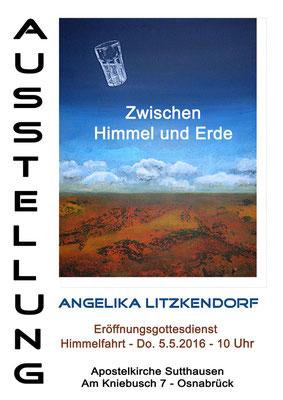 Angelika Litzkendorf - Ausstellung Apostelkirche Sutthausen
