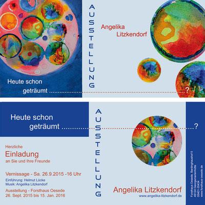 Angelika Litzkendorf - Ausstellung - Träume
