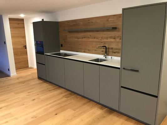 Neue Küche mit Bora-Dunstabzug