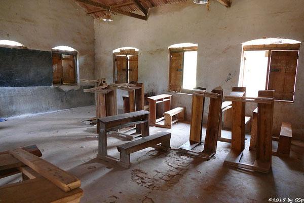 Klassenzimmer im  ehem. Lepra-Krankenhaus