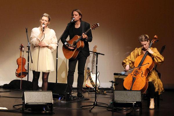 Helene Blum und Harald Haugaard Band, Oktober 2020, Foto von Björn Othlinghaus