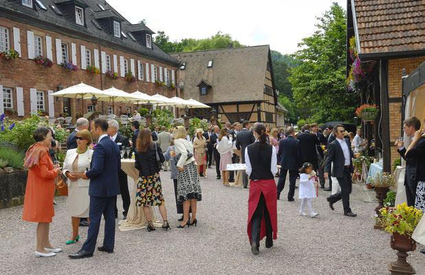 Hochzeit im Hotel Schafhof in Amorbach