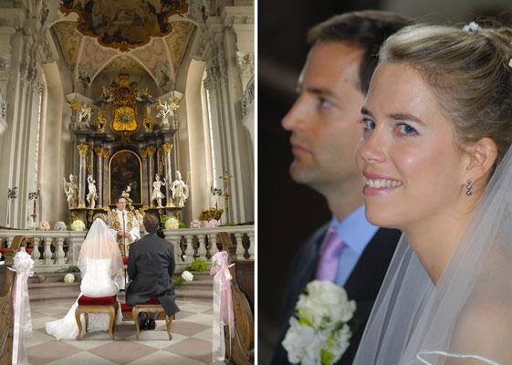 Hochzeit Kirche in Amorbach