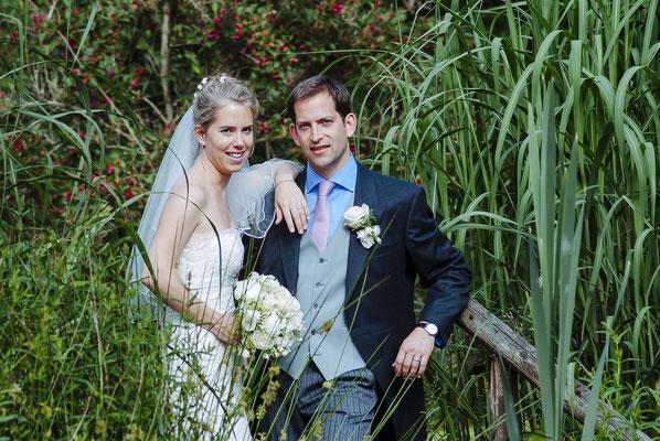 Hochzeit: Portrait Shooting im Hotel Schafhof in Amorbach.