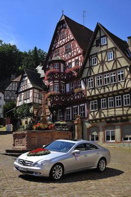 Hochzeit Portrait - Shooting am alten Marktplatz/Schnatterloch in Miltenberg