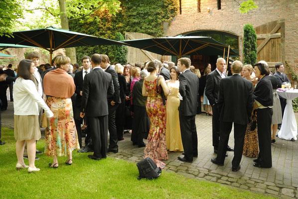 Hochzeit im Hofgut von Hünersdorff in Wörth am Main