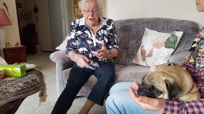 Op bezoek bij oma Harlingen