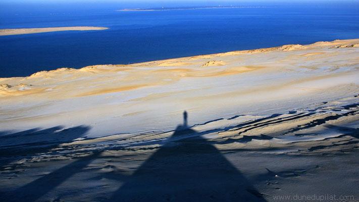 Dune du Pilat givre froid