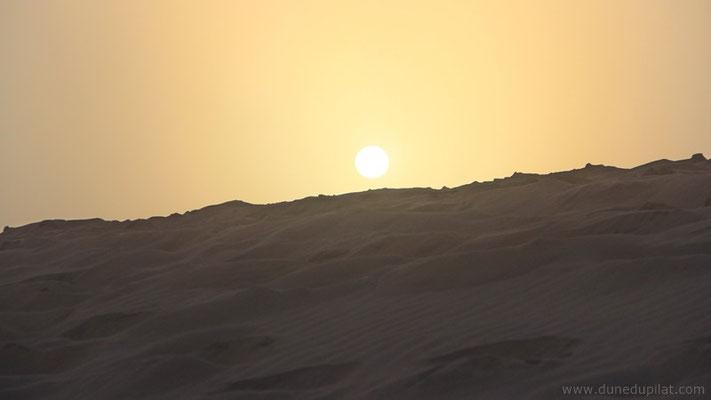 Le soleil commence à percer...