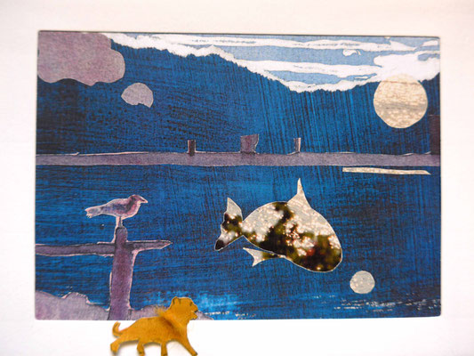 Connie und der Löwe unterm Mond (hat dieser Corona?)