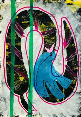 Schlange und Austernvogel von S.A. noch ein Meisterwerk