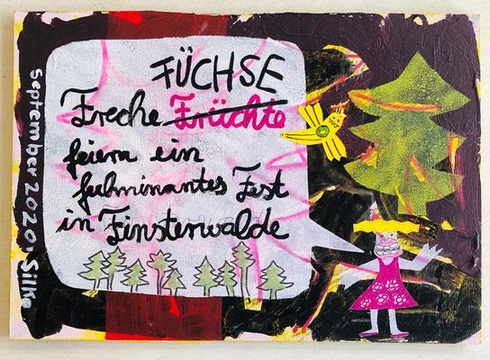 Silke A aus D..... zaubert gleich an ganzes Fuchs-Leporello