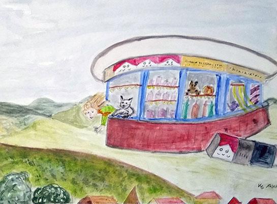 typisches Kiosk aus der Pfalz von Kerstin