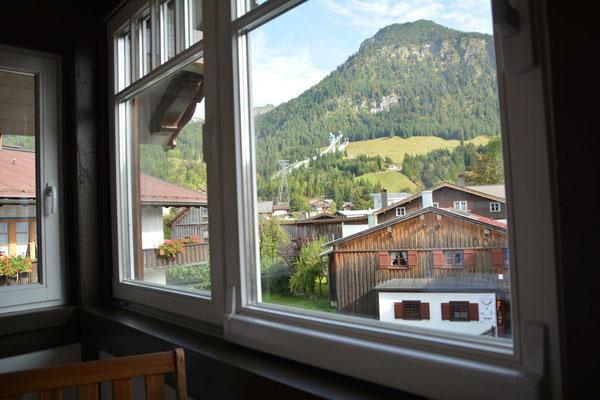 Ferienhaus in Oberstdorf, Ferienhaus Sehrwind – Aussicht auf die Nebelhornbahn, Dachgeschoß